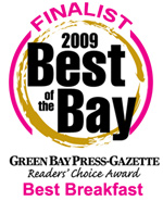 2009 Best of the Bay Finalist for Best Breakfast